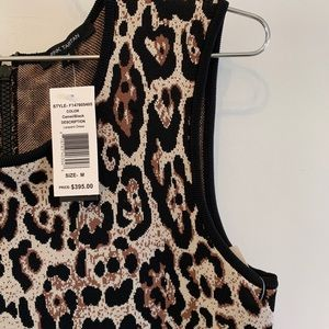 Pink Tartan NWT Cheetah Dress - M